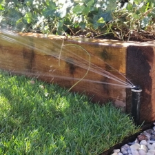 Integrated automatic watering